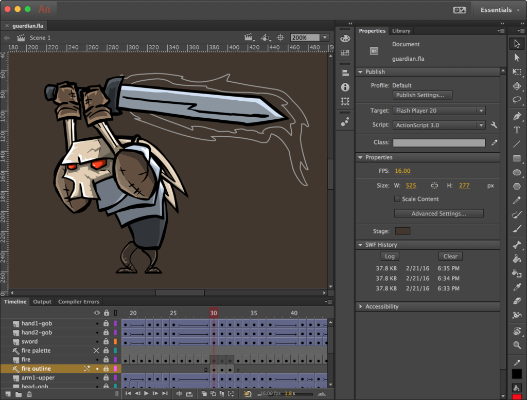 Animation tools for business - Adobe Animate CC
