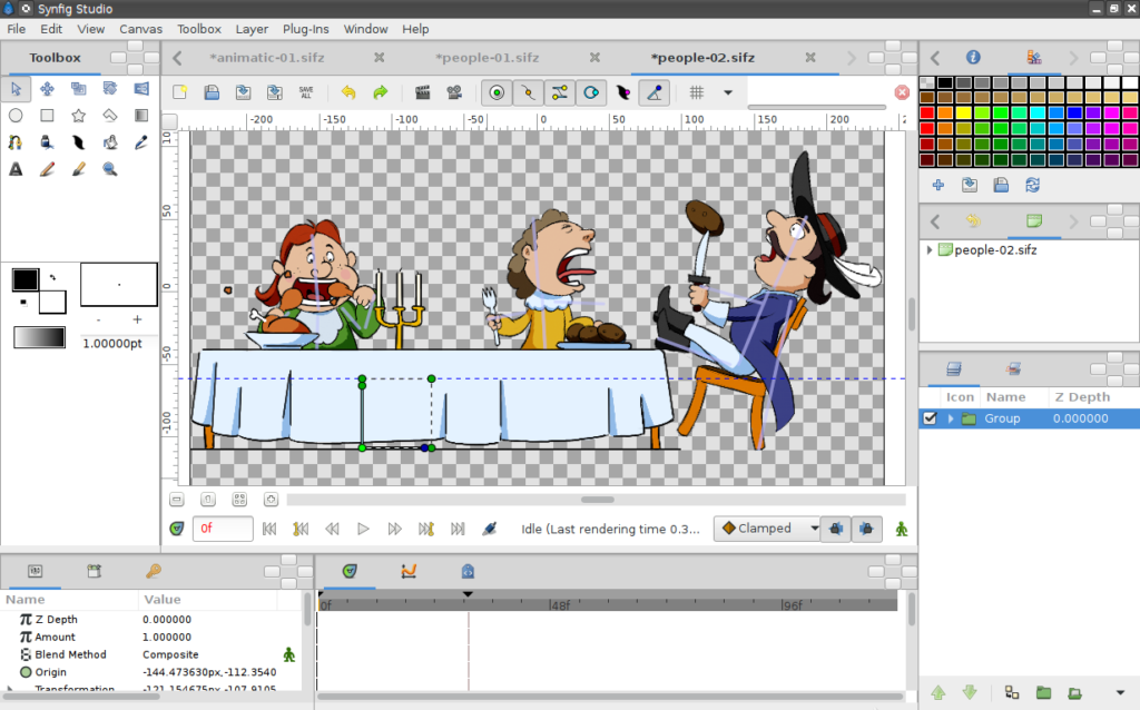 Animation tools for business - Synfig Studio