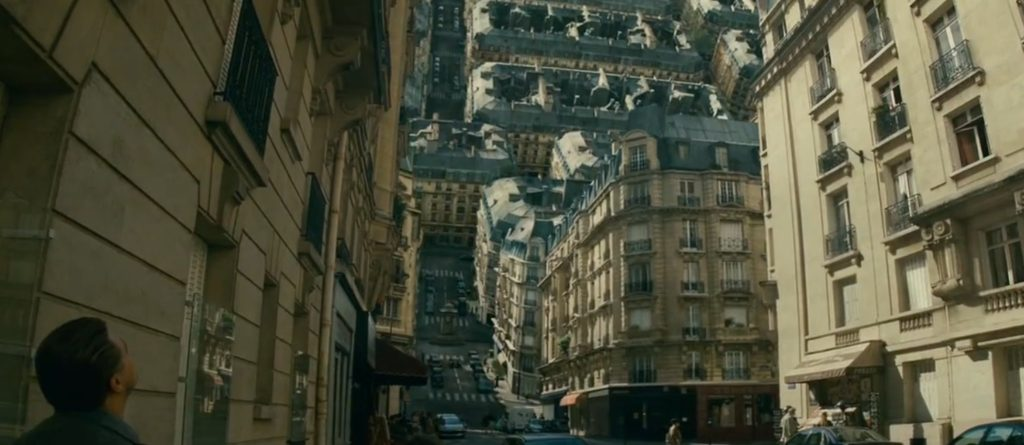 Inception - most iconic vfx scenes in movies