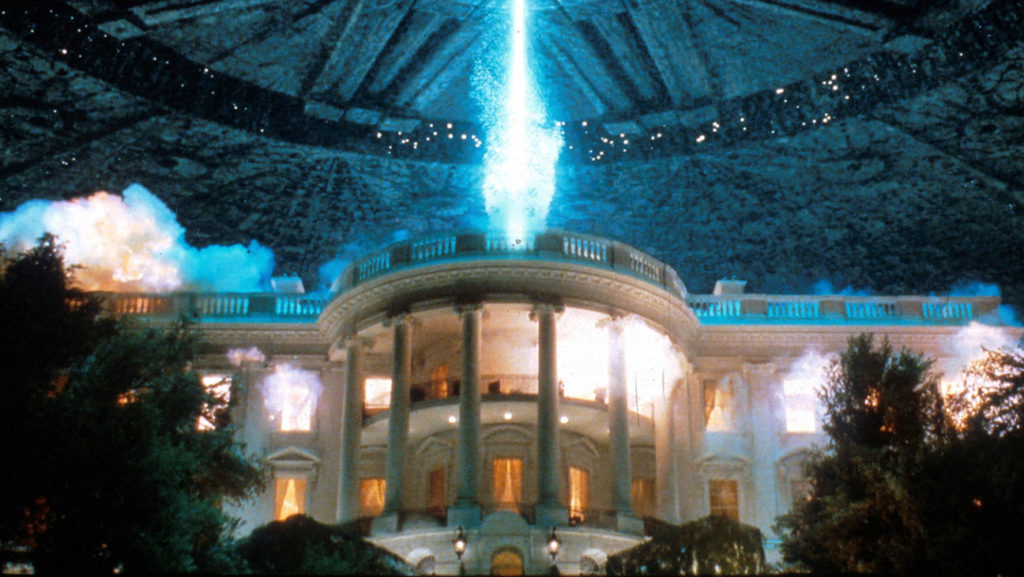Independence Day - most iconic vfx scenes in movies