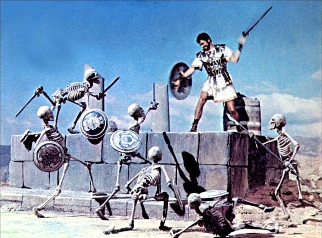 Jason and the Argonauts - most iconic vfx scenes in movies
