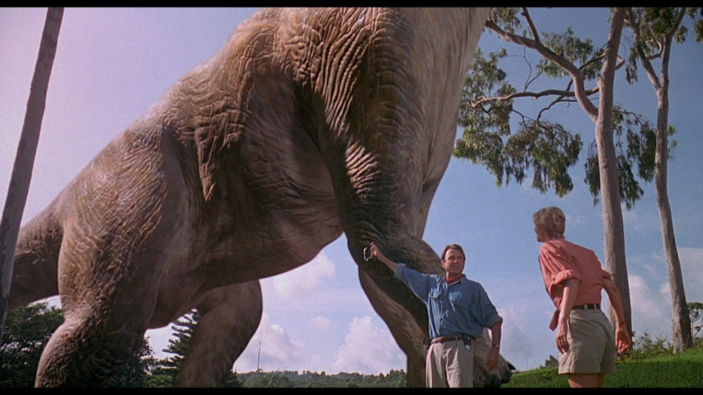 Jurassic Park - most iconic vfx scenes in movies