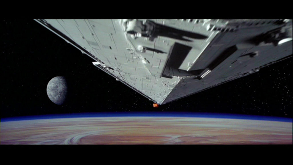 Star Wars Episode IV: A New Hope - most iconic vfx scenes in movies