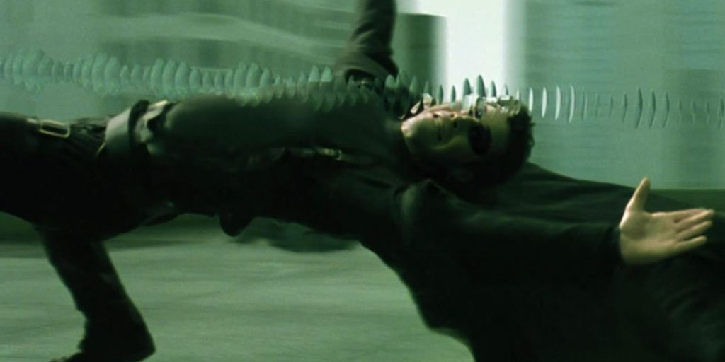 The Matrix - most iconic vfx scenes in movies