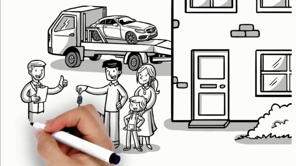 Whiteboard animation for business PVB